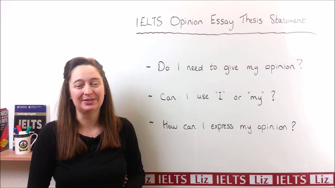 writing an essay expressing an opinion