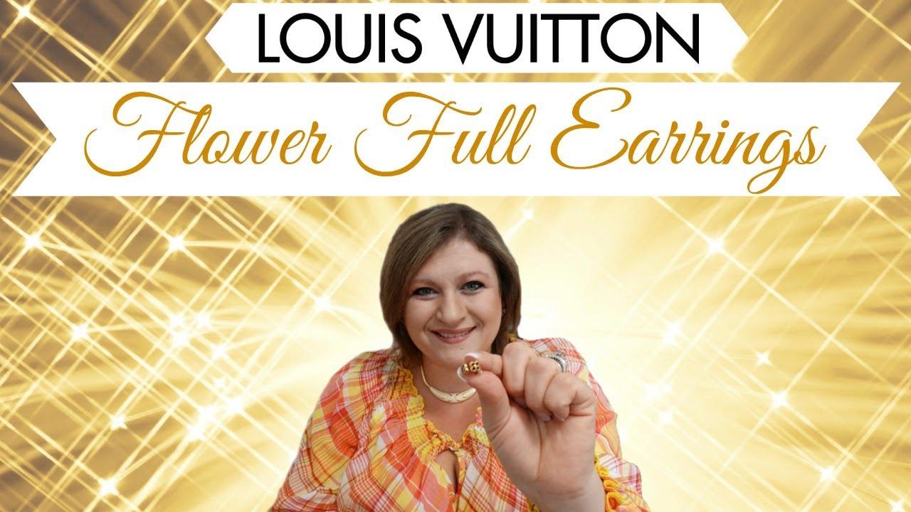 Best Stud Earrings Ever Louis Vuitton Flower Full Earring Review