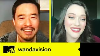 WandaVision - Kat Dennings & Randall Park Talk About The Show's Hidden Easter Eggs | MTV Movies