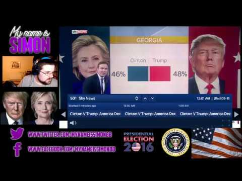 Watching America make history - Presidential Election live stream