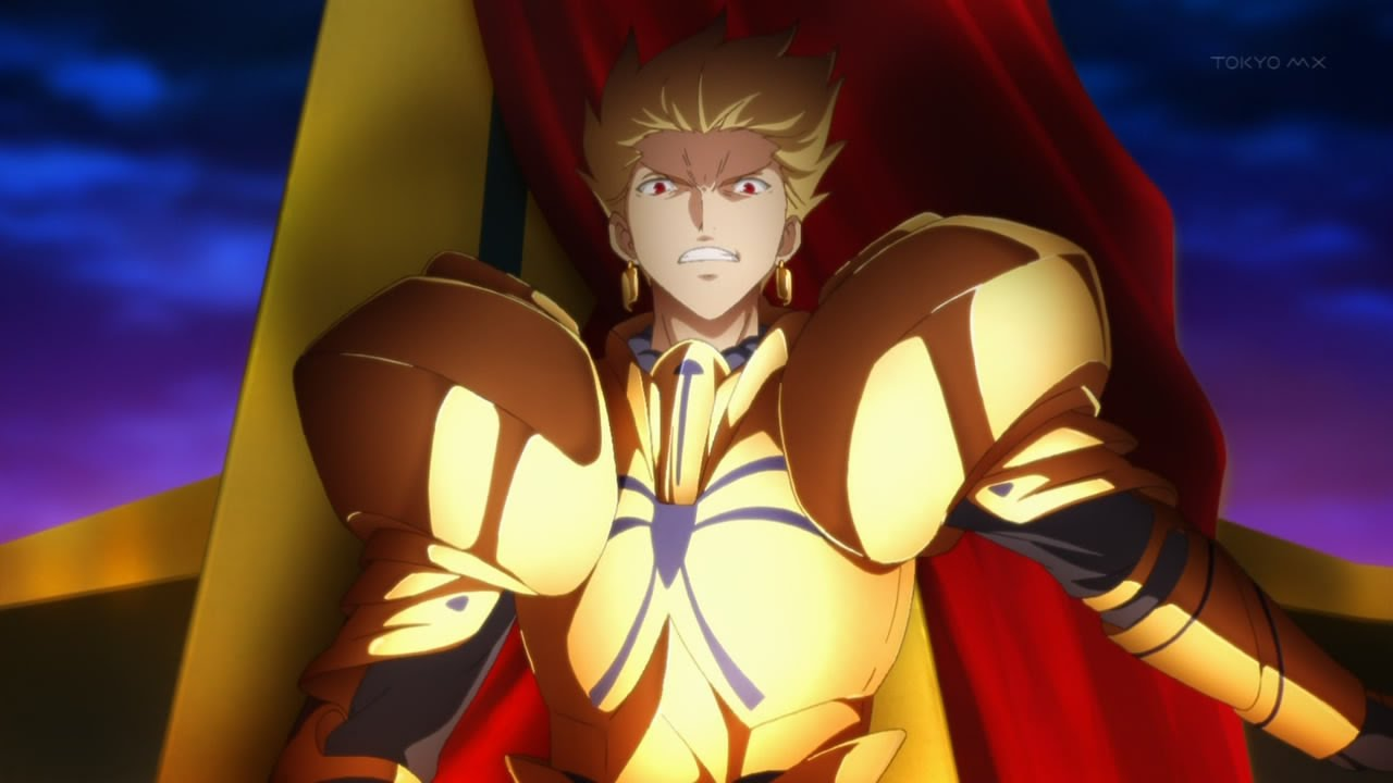 Anime Archer Girl Wallpapers Gilgamesh Quot Hail To The King Quot Amv Youtube