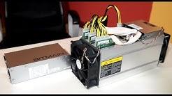 Bitmain Antminer S9 13,5 TH/s unboxing & einrichten (Bitcoin Mining)