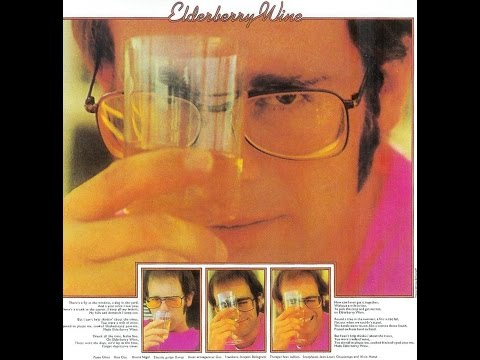 Elton John - Elderberry Wine (1972) With Lyrics!