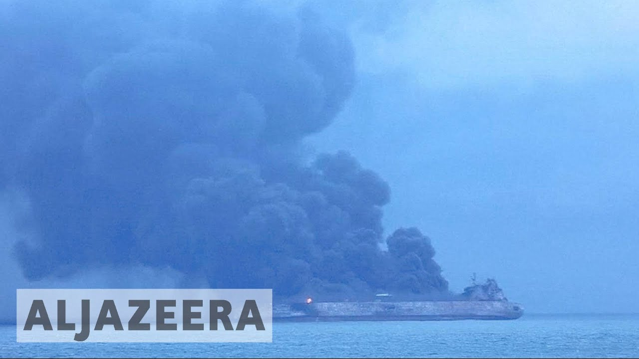Deadly Iranian oil tanker collision probed