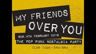 My Friends Over You // The Pop Punk Nostalgia Party   Binary Sunset Guam