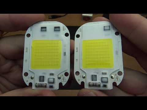 COB светодиоды, RF 433 модуль, миниатюрные FM радиомикровоны - посылки с Aliexpress