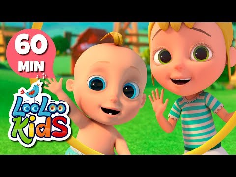 Hokey Pokey 🎵 Learn English With Songs For Children | LooLoo Kids