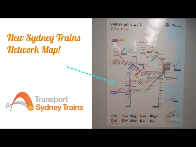 NSW Transport Vlogs 419 : New Sydney Trains Network Map - YouTube