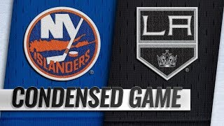 New York Islanders vs Los Angeles Kings – Oct.18, 2018 | Game Highlights | NHL 18/19 | Обзор матча