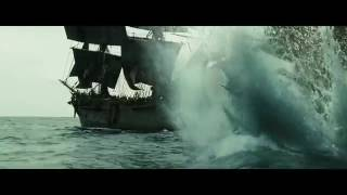 Pirates of the caribbean 2 black pearl escaped crom flying dutchman