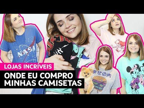 5 marcas incríveis pra comprar camisetas + minha coleção • Karol Pinheiro