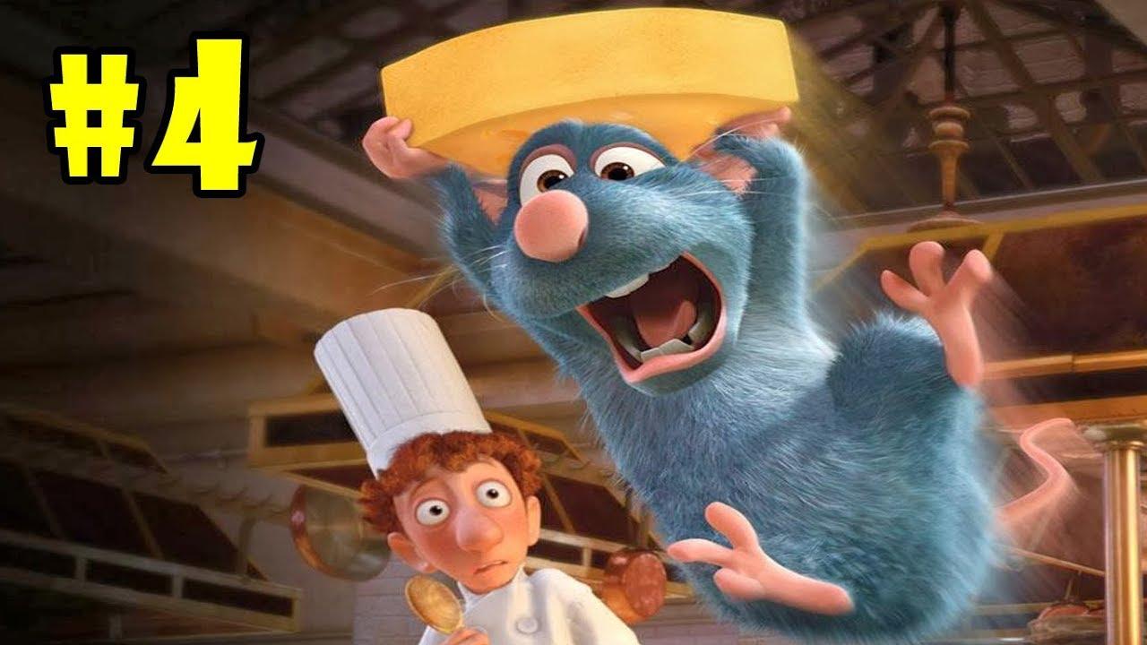 Ratatouille – Walkthrough – Part 4 – Little Chef-Big Kitchen (PC HD) [1080p60FPS]