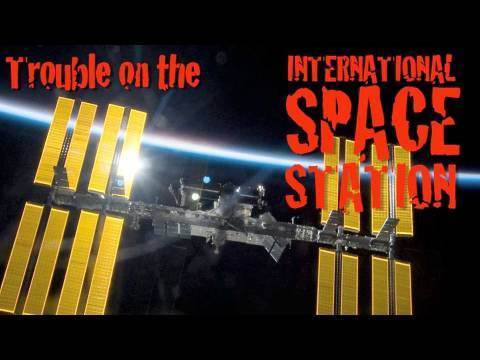 Spacevidcast Live - Trouble on the ISS
