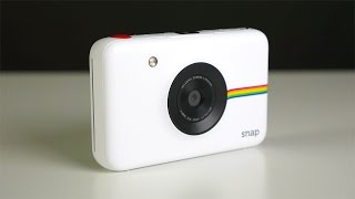 Polarioid Snap Instant Digital Camera Unboxing and Review!