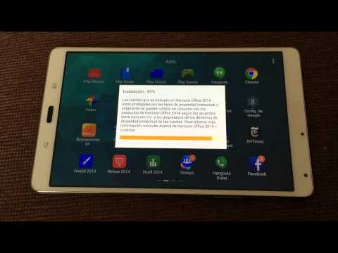 Samsung galaxy tab S 8.4 Review en español