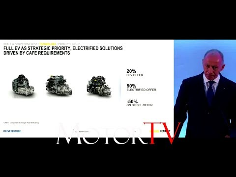 RENAULT GROUPE l Drive The Future 2017/2022 l  Strategic Plan l Full Press Conference (ENG)