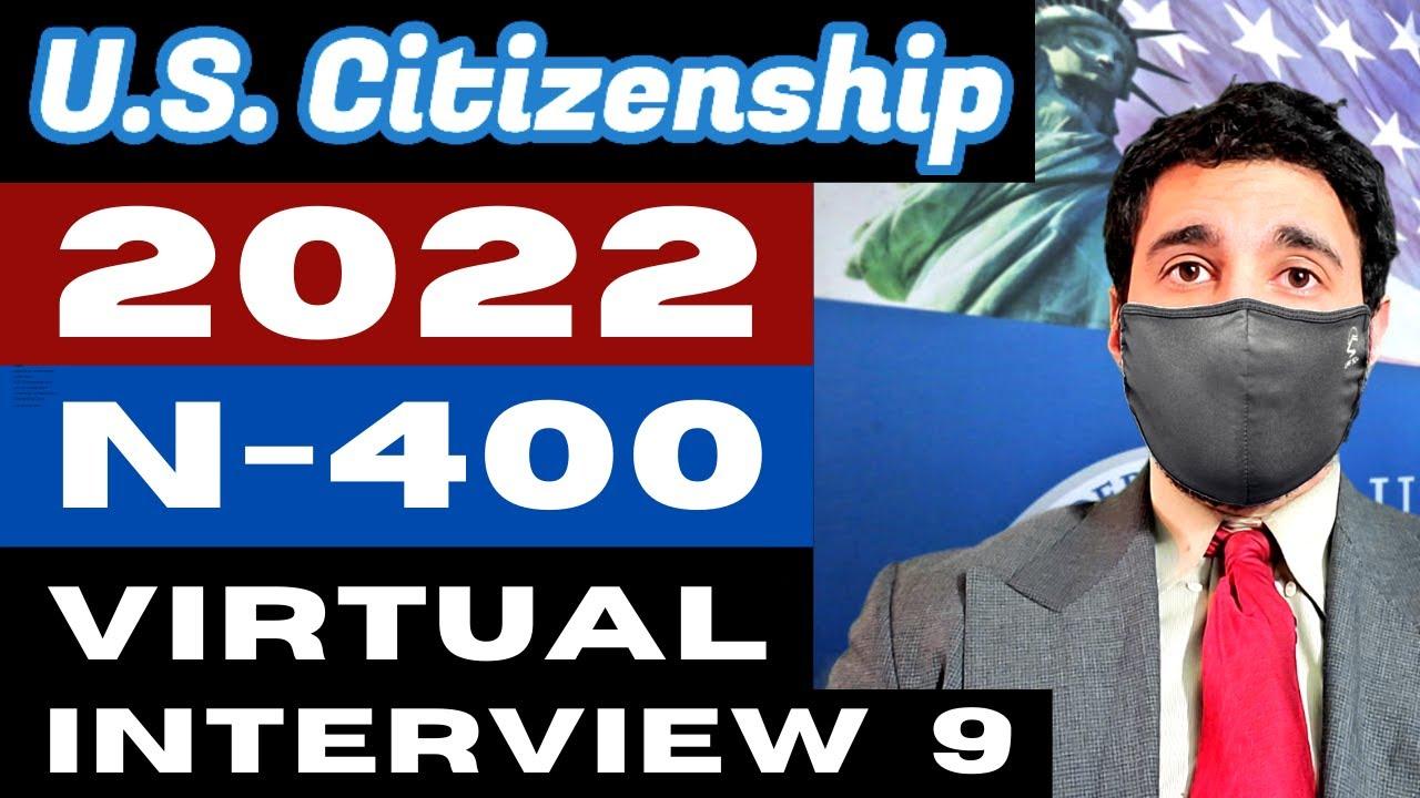 2021 Virtual Mock Interview 9 Naturalization | US Citizenship (entrevista) ciudadania estadounidense