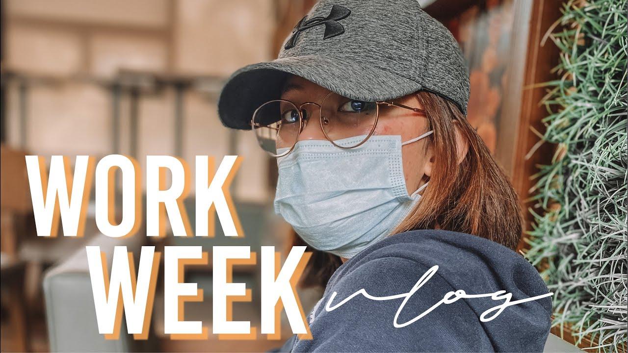 (weekly vlog) work week with me