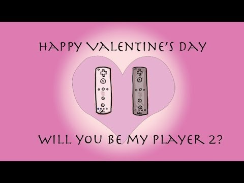 Video game character as your Valentine.