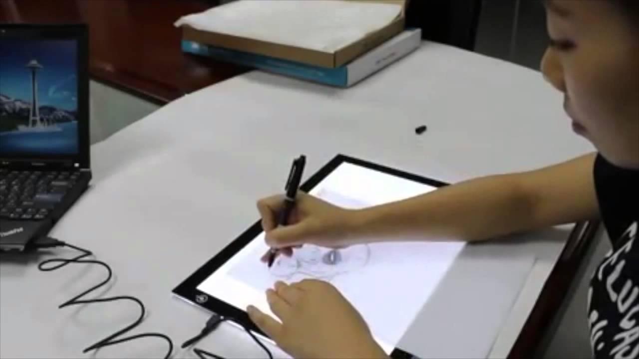 Trên tay bảng can nét điện tử Huion L4S