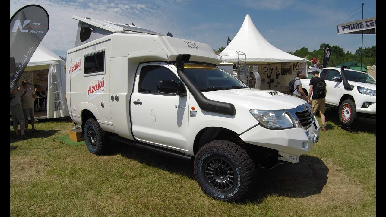 Toyota Hilux Expedition Camper Vehicle By Azalai New