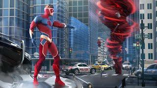 Hurricane Superhero - gameplay android