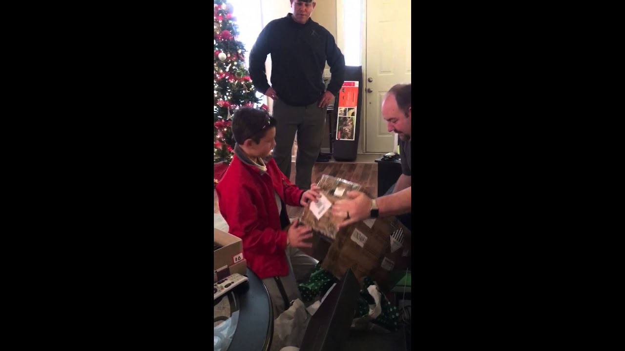 Crews gets a hoverboard for Christmas! - YouTube