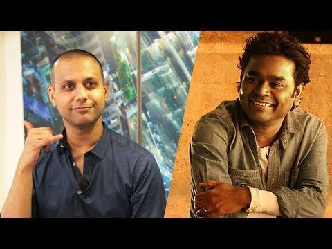 Azhagiye Singer Arjun Chandy Mimics A.R | AA 5