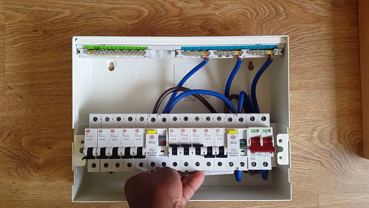 Wiring House In Ghana Understand Your Fuse Board And Prevent Fire Electrical