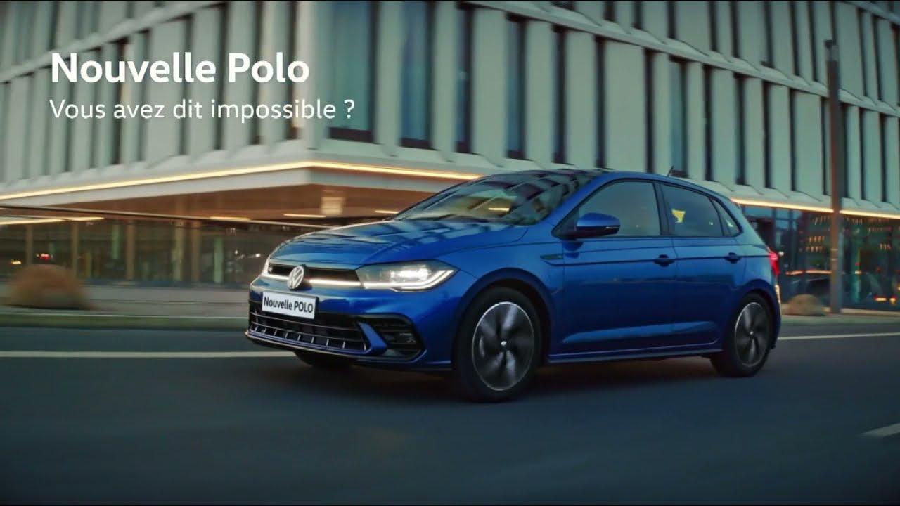 """Musique pub Nouvelle Polo Volkswagen """"vous avez dit impossible?""""  juillet 2021"""