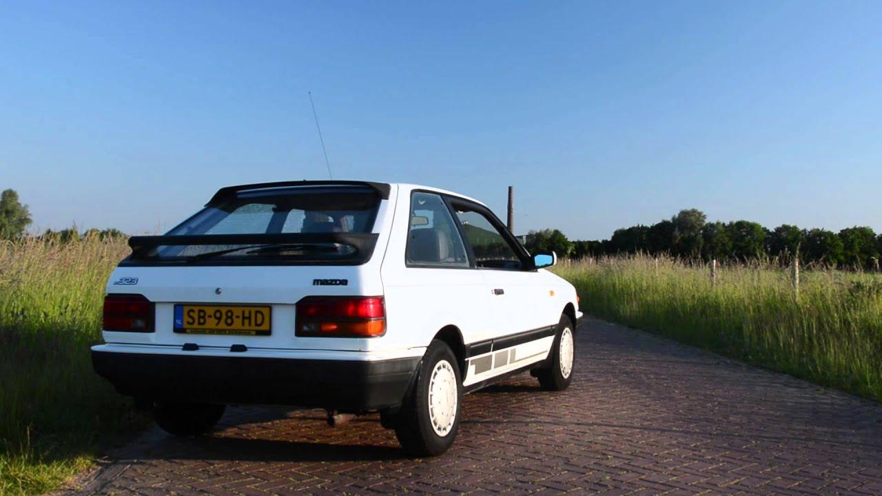 1987 Mazda 323 Sport - YouTube