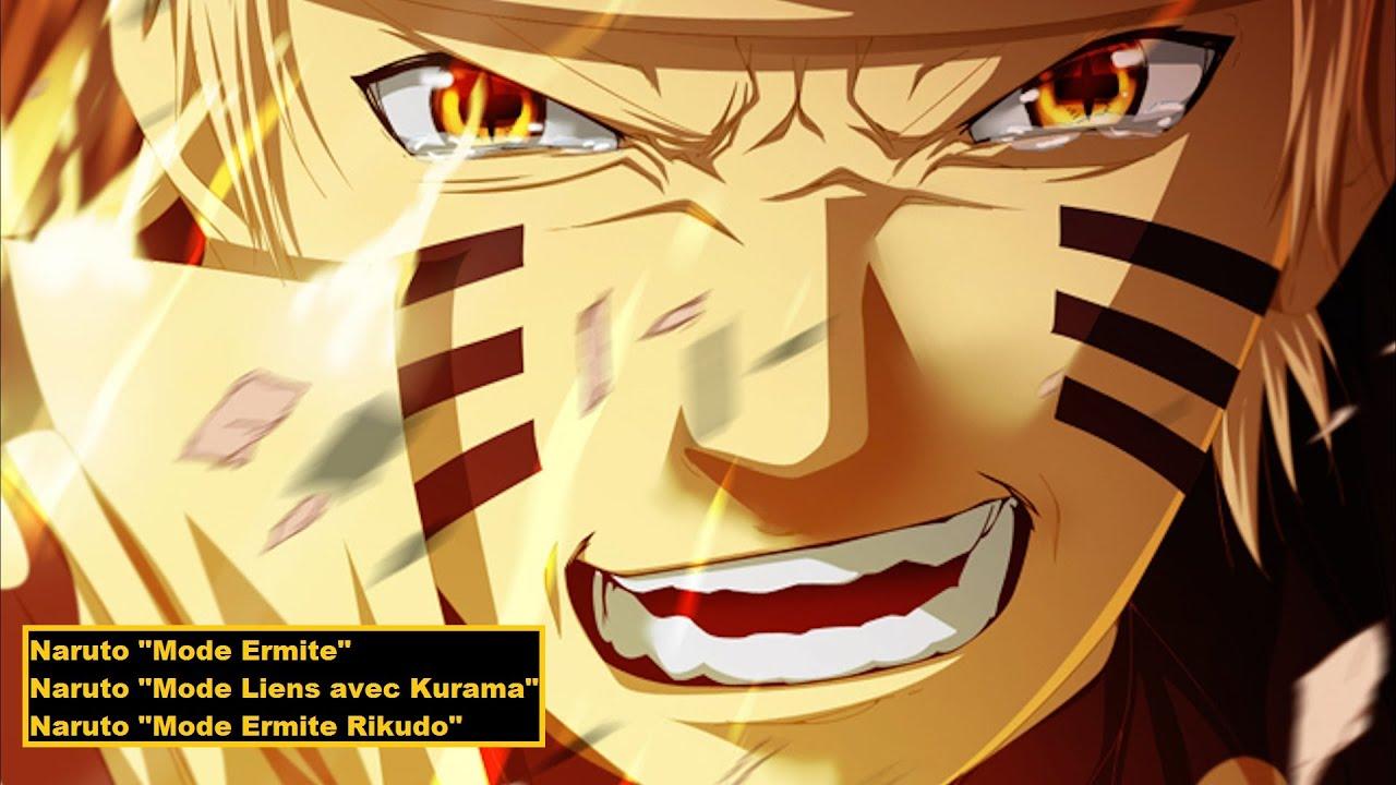 Moveset de Naruto (Mode Ermite, Mode Chackra et Mode Ermite Rikudô)