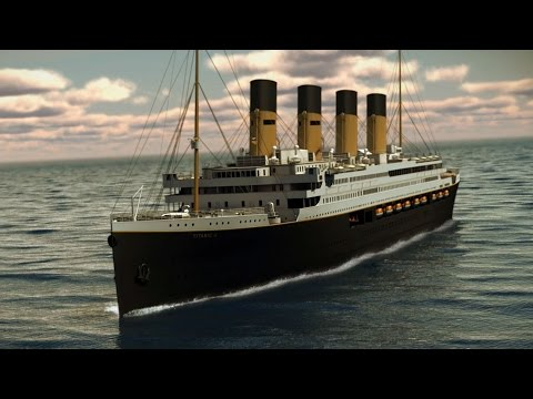 Titanic II To Set Sail In 2018! Titanic 2