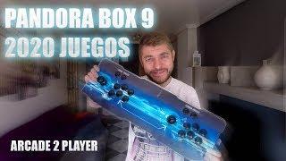 🕹️ PANDORA BOX 9 S , CONSOLA ARCADE, 2020 JUEGOS, SE SALE