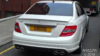 Mercedes C63 AMG Amazing Sound - Full Throttle Accelerations & Revs!
