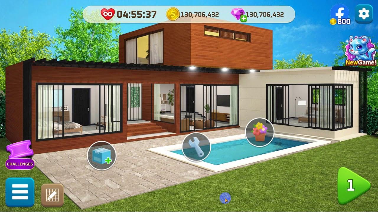 32. My Home Design Modern City 32Part 32  Secret Pool Villa ...