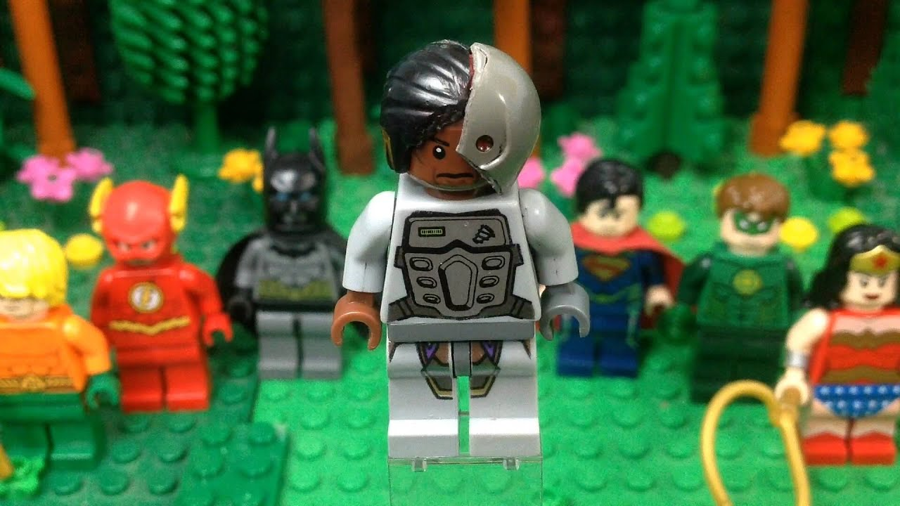 Lego DC: Cyborg- Custom Minifigure - YouTube