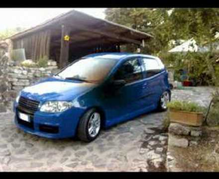 fiat punto 1 3 mjet blu youtube. Black Bedroom Furniture Sets. Home Design Ideas