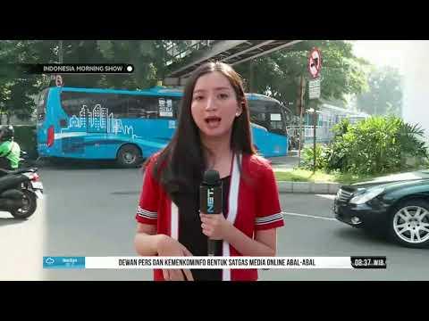 Pemberlakuan Sistem Satu Arah Dari Dukuh Atas, Jakarta Mp3