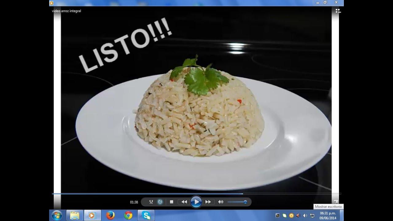 Beneficios del arroz integral para adelgazar