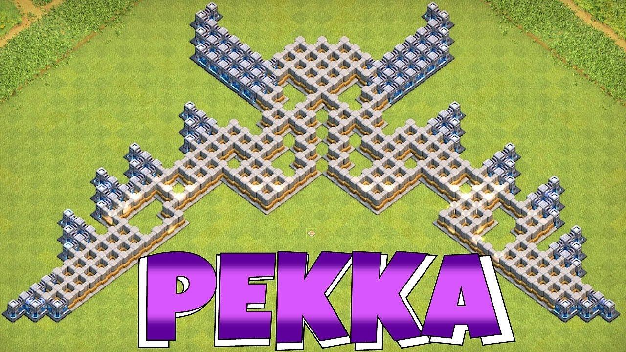 "PEKKA TROLL BASE!!! ""Clash Of Clans"" 6th ANNIVERSARY!!"