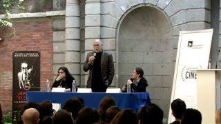 Conferencia Magistral de Guión Cinematográfico por Guillermo Arriaga