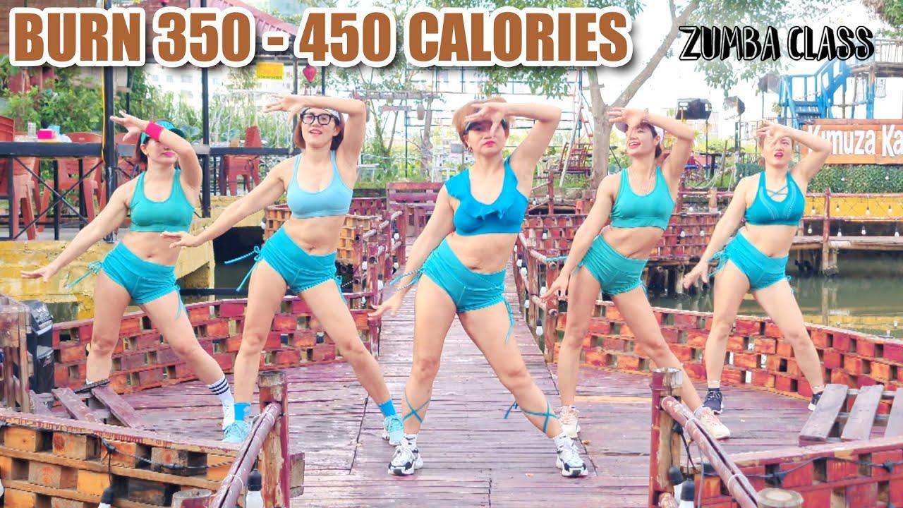 32 Mins Aerobic Workout For Weight Loss | Burn 350 - 450 Calories | Zumba Class