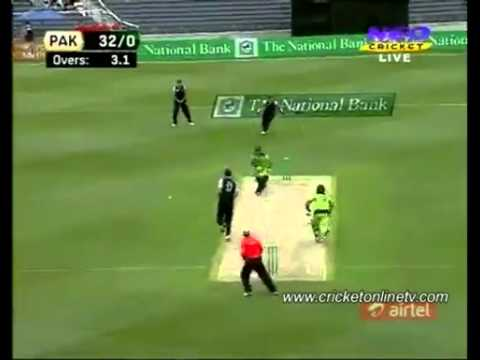 Pakistan vs New Zealand 3rd T20 2010 part 1   30/12/2010 .mp4