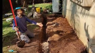 תעלת חלחול - טיפ נהדר לחיזוק המערכת האקולוגית בגינה