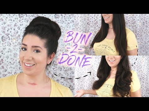 Conair 'Bun 2 Done' Demo and Review