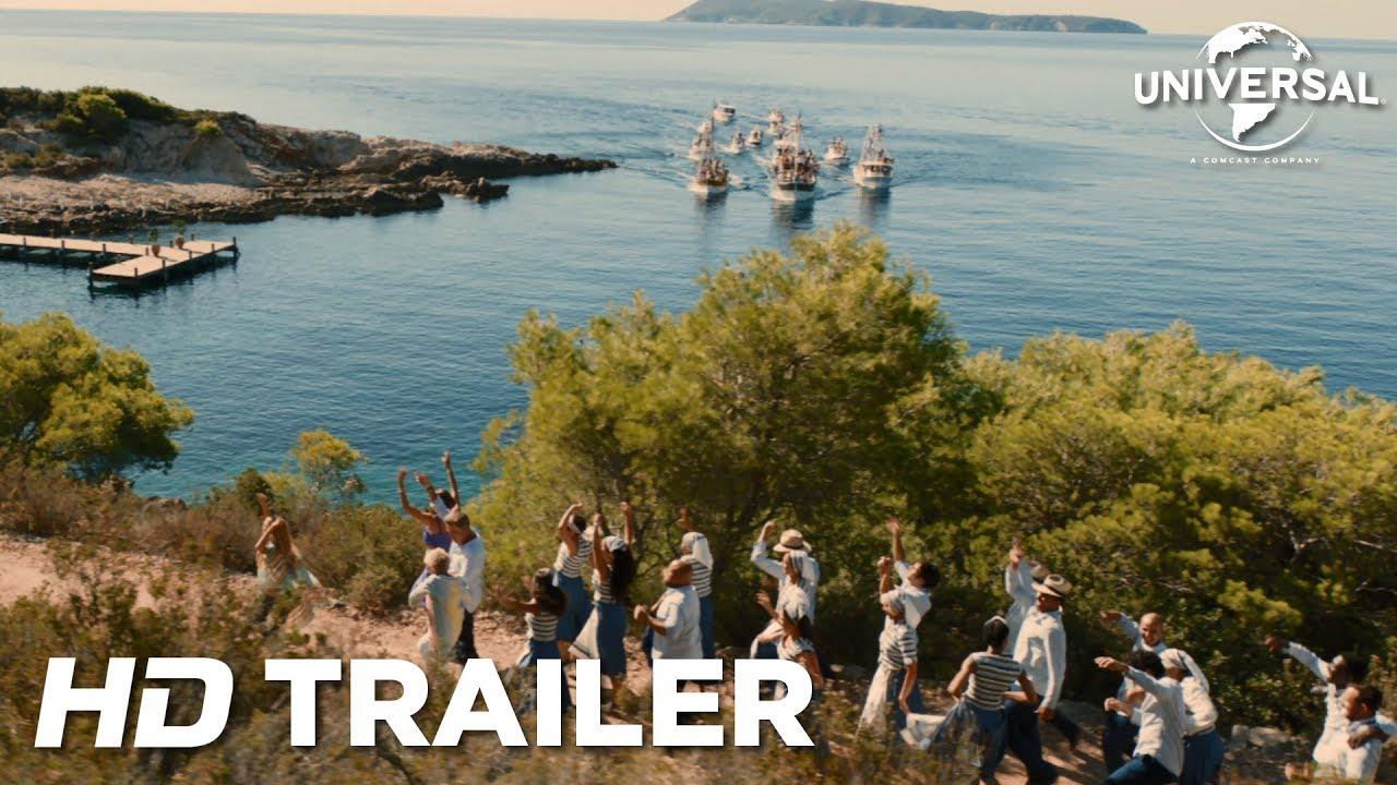 Mamma Mia: Lá Vamos Nós De Novo! - Trailer Internacional (Universal Pictures) HD