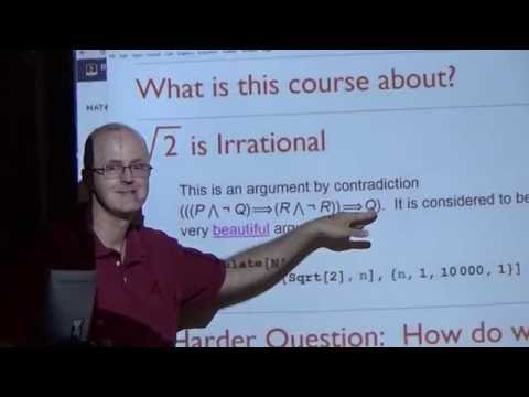 Introductory Real Analysis, Lecture 2, Completeness Axiom, Counterexamples, Ordered Fields