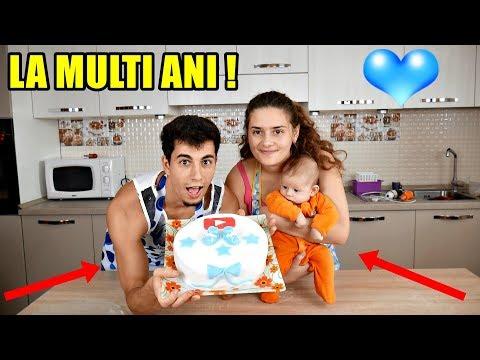 Am făcut un TORT YOUTUBE special de 50K ABONATI + ZIUA LUI NICHOLAS !