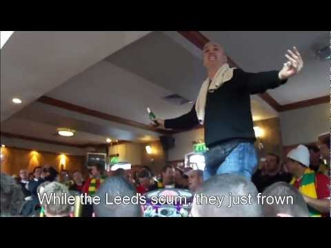 Eric The King Cantona Chants (Most Popular) Lead By Pete Boyle at Bishop Blaize with subtitle